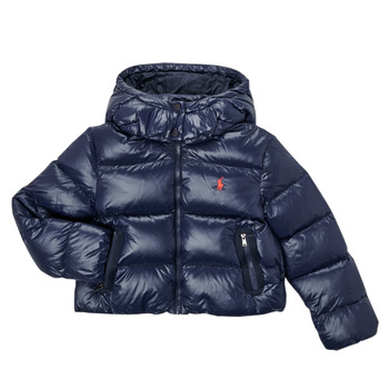 Ruhák Lány Steppelt kabátok Polo Ralph Lauren TREFINA Tengerész