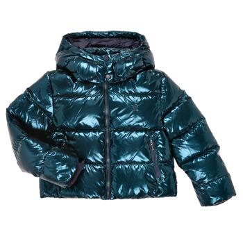 Ruhák Lány Steppelt kabátok Polo Ralph Lauren TREPIDA Tengerész