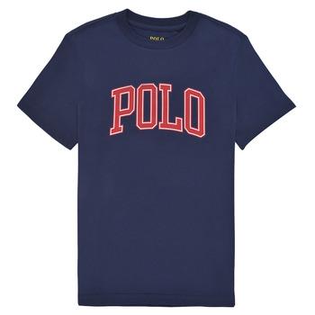 Ruhák Lány Rövid ujjú pólók Polo Ralph Lauren MATIKA Tengerész