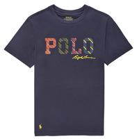 Ruhák Fiú Rövid ujjú pólók Polo Ralph Lauren COLLINA Tengerész