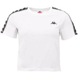 Ruhák Női Rövid ujjú pólók Kappa Inula Tshirt Fehér
