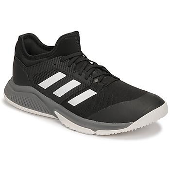 Cipők Férfi Fedett pályás sport adidas Performance Court Team Bounce M Fekete