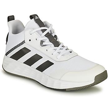 Cipők Férfi Kosárlabda adidas Performance OWNTHEGAME 2.0 Fehér / Fekete