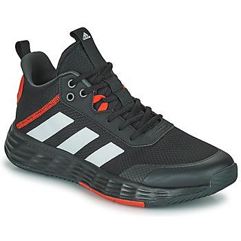 Cipők Férfi Kosárlabda adidas Performance OWNTHEGAME 2.0 Fekete