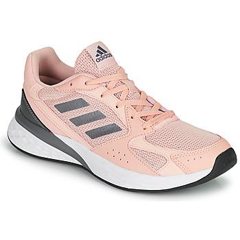 Cipők Női Futócipők adidas Performance RESPONSE RUN Rózsaszín