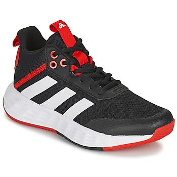 Cipők Gyerek Kosárlabda adidas Performance OWNTHEGAME 2.0 K Fekete  / Piros