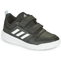 Cipők Gyerek Rövid szárú edzőcipők adidas Performance TENSAUR C Fekete  / Fehér