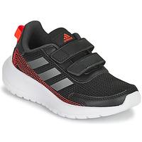 Cipők Fiú Futócipők adidas Performance TENSAUR RUN C Fekete  / Piros