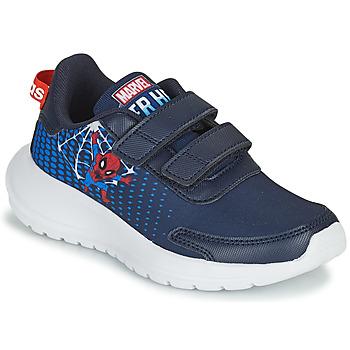 Cipők Fiú Futócipők adidas Performance TENSAUR RUN C Kék