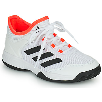 Cipők Gyerek Tenisz adidas Performance Ubersonic 4 k Fehér / Piros