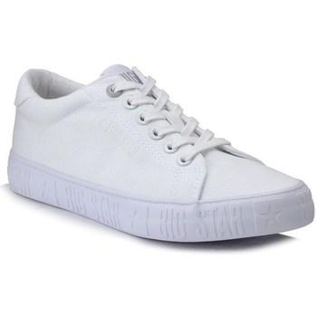Cipők Női Rövid szárú edzőcipők Big Star HH274216 Fehér