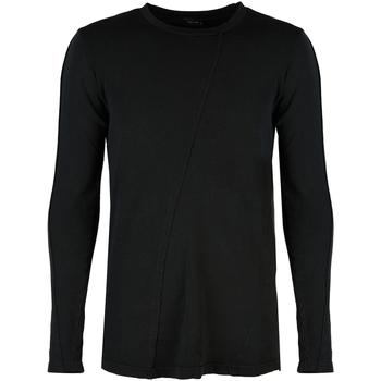 Ruhák Férfi Hosszú ujjú pólók Xagon Man  Fekete
