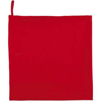 Otthon Törölköző és tisztálkodó kesztyű Sols ATOLL 70 ROJO Rojo
