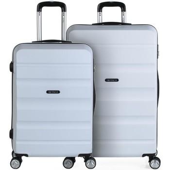 Táskák Keményfedeles bőröndök Itaca Közepes és nagy Elba 162 liter Fehér