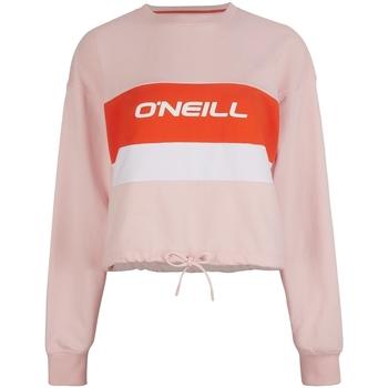 Ruhák Női Melegítő kabátok O'neill Athleisure Crew Rózsaszín