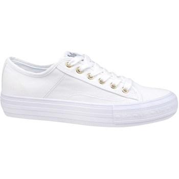 Cipők Női Rövid szárú edzőcipők Lee Cooper Lcw 21 31 0121L Fehér