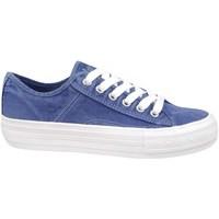 Cipők Női Rövid szárú edzőcipők Lee Cooper Lcw 21 31 0119L Kék