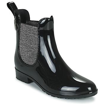 Cipők Női Gumicsizmák Les Tropéziennes par M Belarbi RAINBOO Fekete  / Ezüst