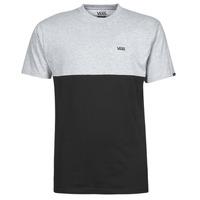 Ruhák Férfi Rövid ujjú pólók Vans COLORBLOCK TEE Szürke / Fekete