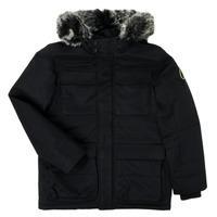 Ruhák Fiú Parka kabátok Teddy Smith P-SIL Fekete