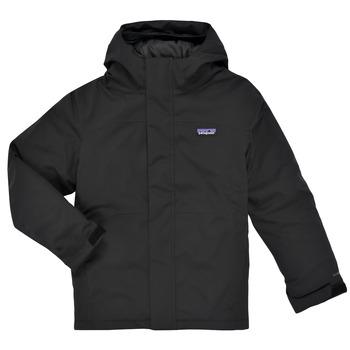 Ruhák Fiú Steppelt kabátok Patagonia EVERYDAY READY JACKET Fekete