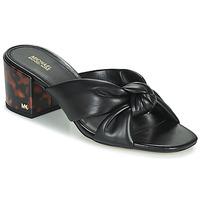 Cipők Női Papucsok MICHAEL Michael Kors JOSIE Fekete