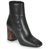 Cipők Női Bokacsizmák MICHAEL Michael Kors MARCELLA Fekete