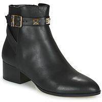 Cipők Női Csizmák MICHAEL Michael Kors BRITTON Fekete