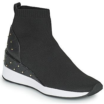 Cipők Női Magas szárú edzőcipők MICHAEL Michael Kors SKYLE Fekete