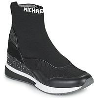 Cipők Női Magas szárú edzőcipők MICHAEL Michael Kors SWIFT Fekete
