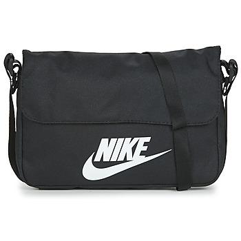Táskák Válltáskák Nike NIKE SPORTSWEAR Fekete  / Fehér