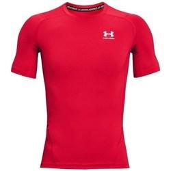 Ruhák Férfi Rövid ujjú pólók Under Armour Heatgear Armour Piros