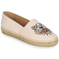 Cipők Női Gyékény talpú cipők Kenzo ESPADRILLES CLASSIC TIGER Rózsaszín / Bőrszínű
