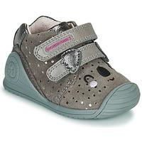 Cipők Lány Rövid szárú edzőcipők Biomecanics BIOGATEO CASUAL Tópszínű