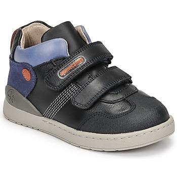 Cipők Fiú Magas szárú edzőcipők Biomecanics BIOEVOLUTION BOY Tengerész