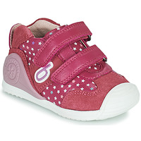 Cipők Lány Rövid szárú edzőcipők Biomecanics BIOGATEO SPORT Rózsaszín