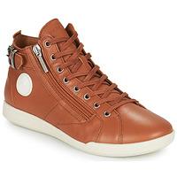 Cipők Női Magas szárú edzőcipők Pataugas PALME Teve