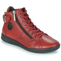 Cipők Női Magas szárú edzőcipők Pataugas PALME Sangria