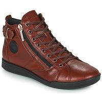 Cipők Női Magas szárú edzőcipők Pataugas PALME Gesztenye