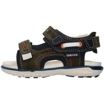 Cipők Fiú Sportszandálok Geox B154LA02285 GREEN