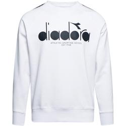 Ruhák Férfi Pulóverek Diadora 502175376 Fehér