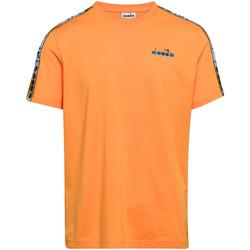 Ruhák Férfi Rövid ujjú pólók Diadora 502176085 Narancssárga