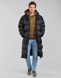 Ruhák Férfi Steppelt kabátok Schott 2190 MAX Fekete