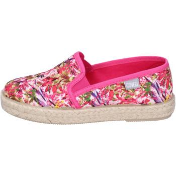 Cipők Lány Gyékény talpú cipők Enrico Coveri BJ977 Rózsa