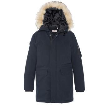Ruhák Fiú Parka kabátok Schott DIPTON Tengerész