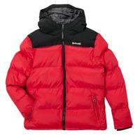 Ruhák Gyerek Steppelt kabátok Schott UTAH 2 Piros
