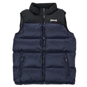 Ruhák Gyerek Steppelt kabátok Schott UTAH Tengerész
