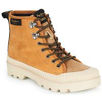 Cipők Női Magas szárú edzőcipők Pepe jeans ASCOT DESERT Teve