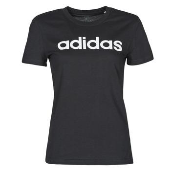 Ruhák Női Rövid ujjú pólók adidas Performance WELINT Fekete