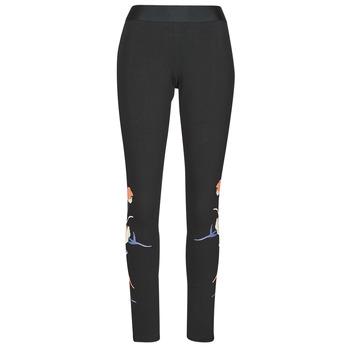 Ruhák Női Legging-ek adidas Performance FLORL GFX TIGHT Fekete